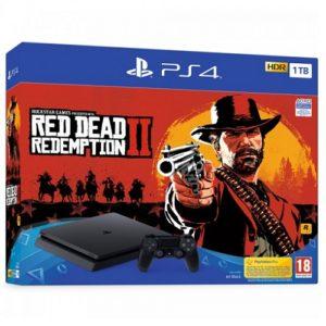 PS4 Slim 1TB Red Dead Redemption 2 bundle
